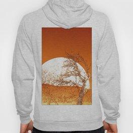 Desert Moonrise in Orange Hoody