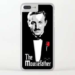 Walt E.Disney, The Mousefather Clear iPhone Case