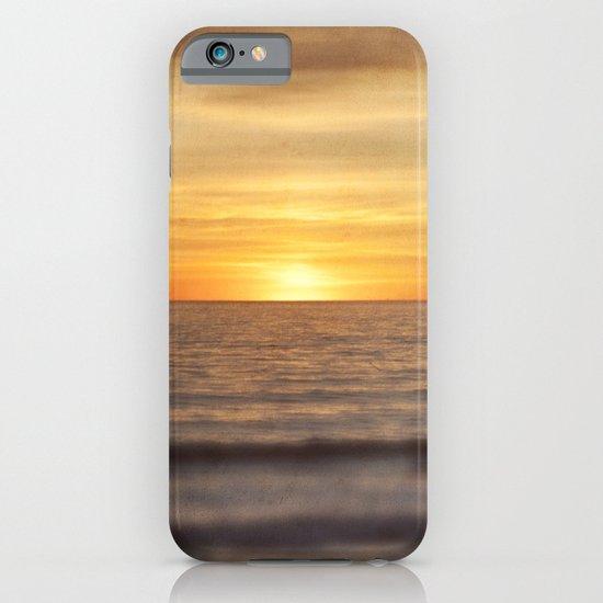 California Sunset Over Ocean iPhone & iPod Case