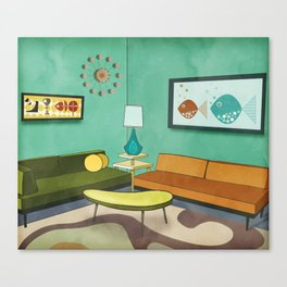 The Room 1962 Canvas Print