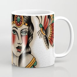 Girl Head Coffee Mug