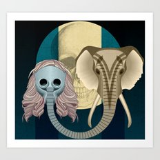 Love in times of Ebola Art Print