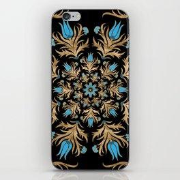 Turkish tulip - Ottoman tile 4 iPhone Skin