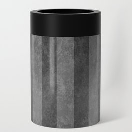 Grey Stripes Can Cooler