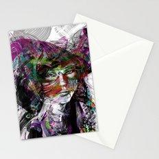Girl Portrait Stationery Cards