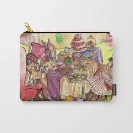 Mad Tea Party Carry-All Pouch
