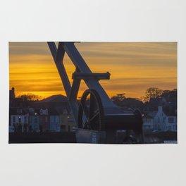 Donaghadee Crane - Sunset Rug