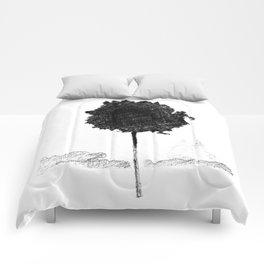 Croquis d'arbre Comforters