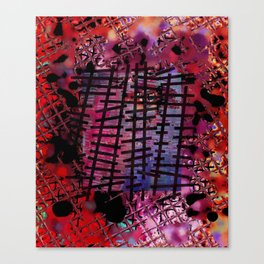 Rails on Red Canvas Print