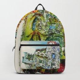 Casa Batllo Barcelona Backpack