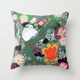Dauphine Marie Antoinette Throw Pillow
