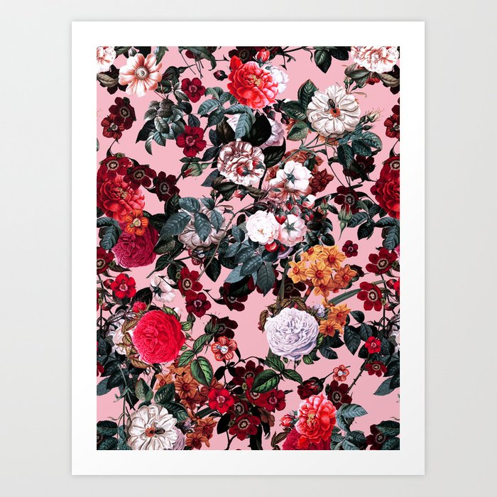 Romantic Garden X Art Print