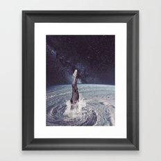 Into The Eye II Framed Art Print