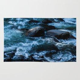 Like Stones Under Rushing Water Rug