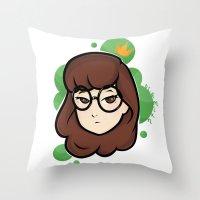 daria Throw Pillows featuring Daria by ocamixn