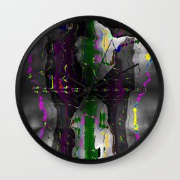 Leaved marks ... Wall Clock