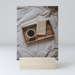 Coffee & Book Mini Art Print