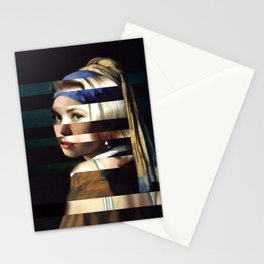 """Vermeer's """"Girl with a Pearl Earring"""" & Grace Kelly Stationery Cards"""