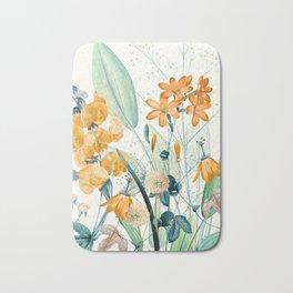 Wildflowers2 Bath Mat