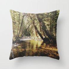 East Inlet Creek Throw Pillow