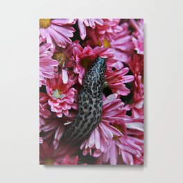 Big Juicy Slug Metal Print