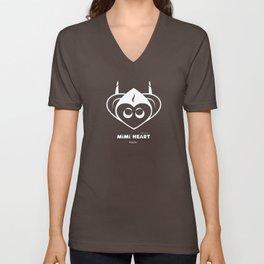 Mimi Heart Logo [Camo] Unisex V-Neck