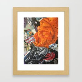 Zero Tinder Framed Art Print