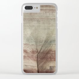 Hills as Canvas, No. 2 Clear iPhone Case