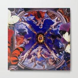 Butterflies in Cappella di Eleonora Metal Print