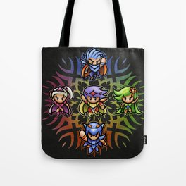 FF4 To the Center of the Moon! Tote Bag