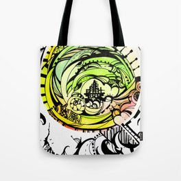 Compass Journey Tote Bag