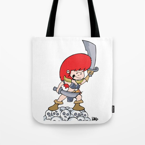 Red Gilly! Tote Bag