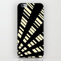 Fancy  |  Cream & Black iPhone & iPod Skin