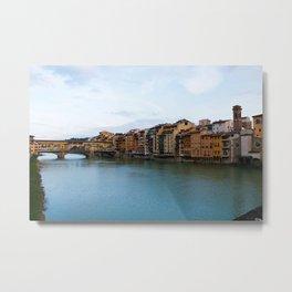 Ponte Vecchio. Metal Print