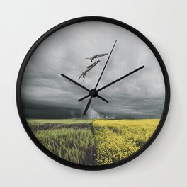 Defectors Wall Clock