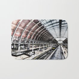 Paddington Station Art Bath Mat
