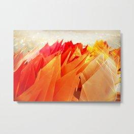 Senbazuru | shades of  orange Metal Print