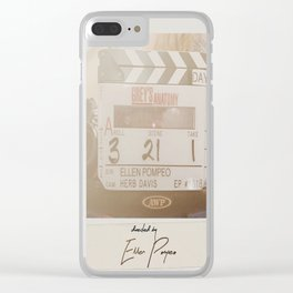Director Pompeo Clear iPhone Case