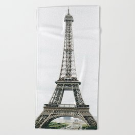 Eiffel Tower - Paris Beach Towel