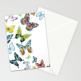 Butterflies 03 Stationery Cards