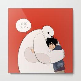 there, there hug Metal Print