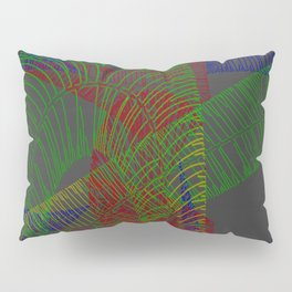 Stichelstrichelei Pillow Sham