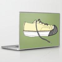 sneaker Laptop & iPad Skins featuring Sneaker in profile by Sloe Gin Fizz