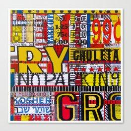 Combination Platter #18 Canvas Print