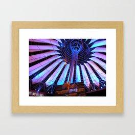 Lights of the Sony Center Framed Art Print