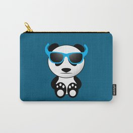 Cool and cute panda bear with sunglasses Carry-All Pouch