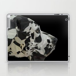 Great Dane Dogue low poly. Laptop & iPad Skin