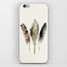 nature feathers iPhone & iPod Skin