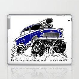 55 Gasser REV-3 BLUE Laptop & iPad Skin