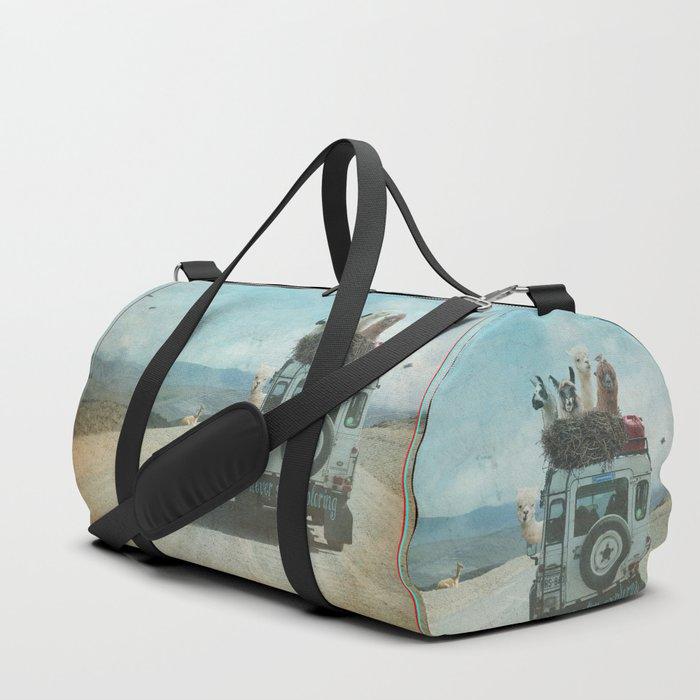 NEVER STOP EXPLORING II SOUTH AMERICA Duffle Bag